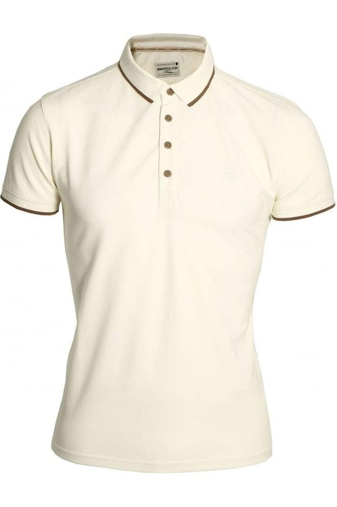 883 POLICE Akil Polo Shirt | Ecru