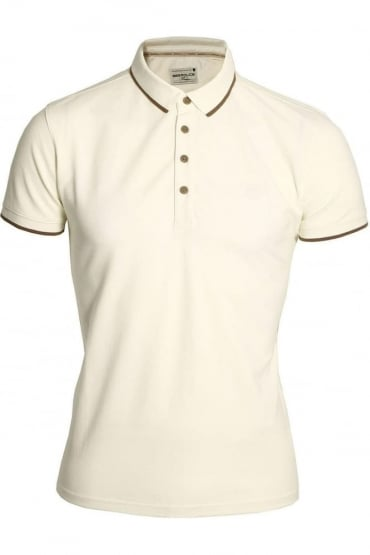Akil Polo Shirt | Ecru