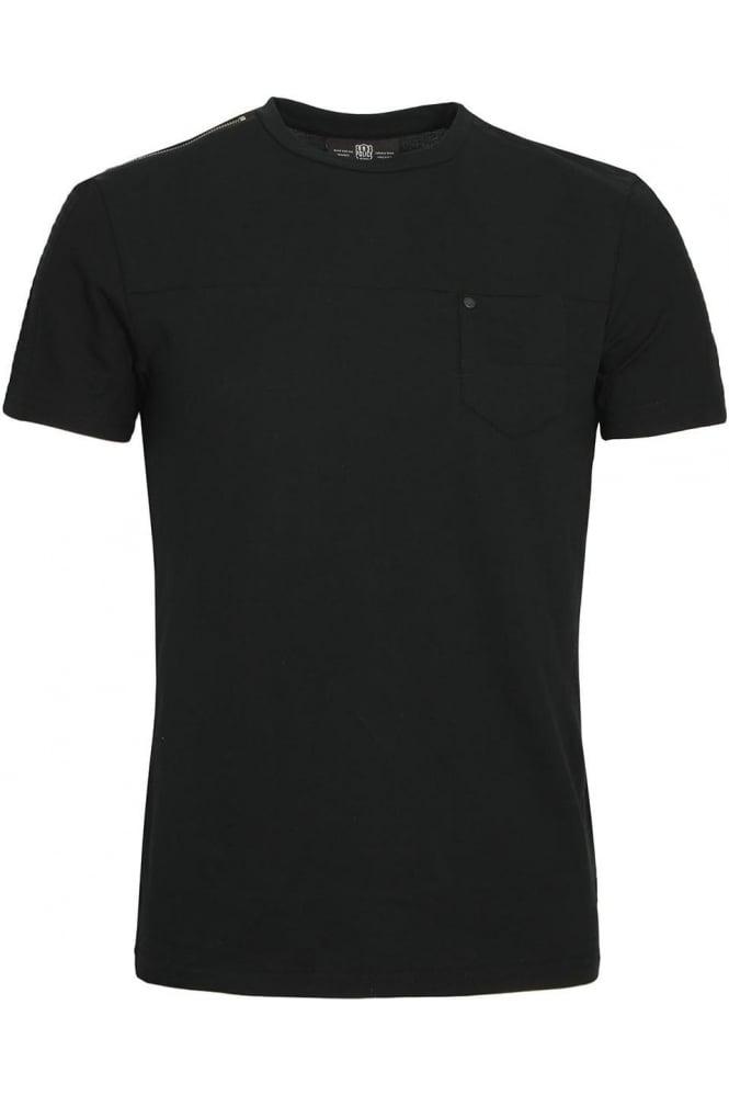 883 POLICE Bradley Jersey T-Shirt Black