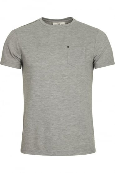 Bradley Jersey T-Shirt Marl Grey