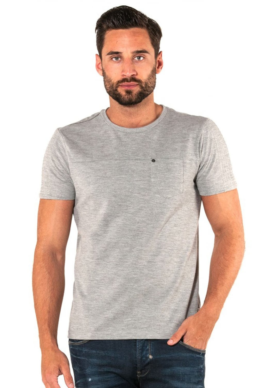 883 police bradley marl grey jersey t shirt shop 883 for Grey marl t shirt