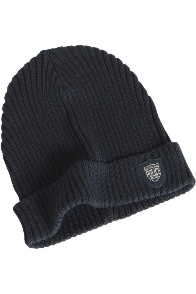 883 POLICE Bussola Beanie Hat | Navy
