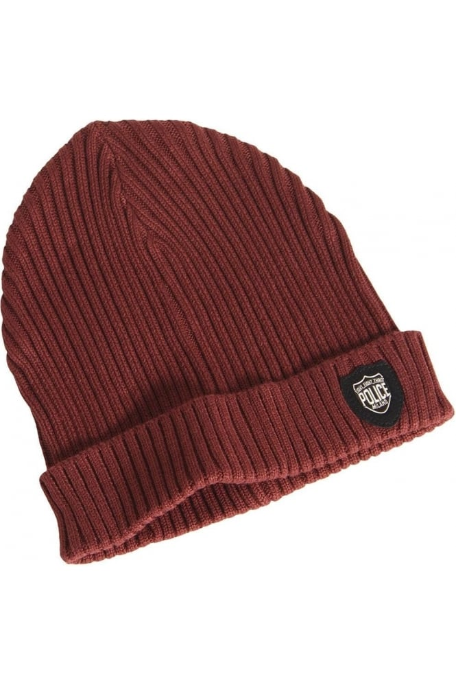 883 Police Red Bussola Beanie Hat  77be0feacf2