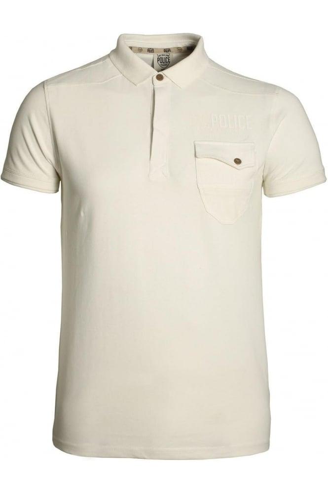 883 POLICE Caradoc Polo Shirt | Off White