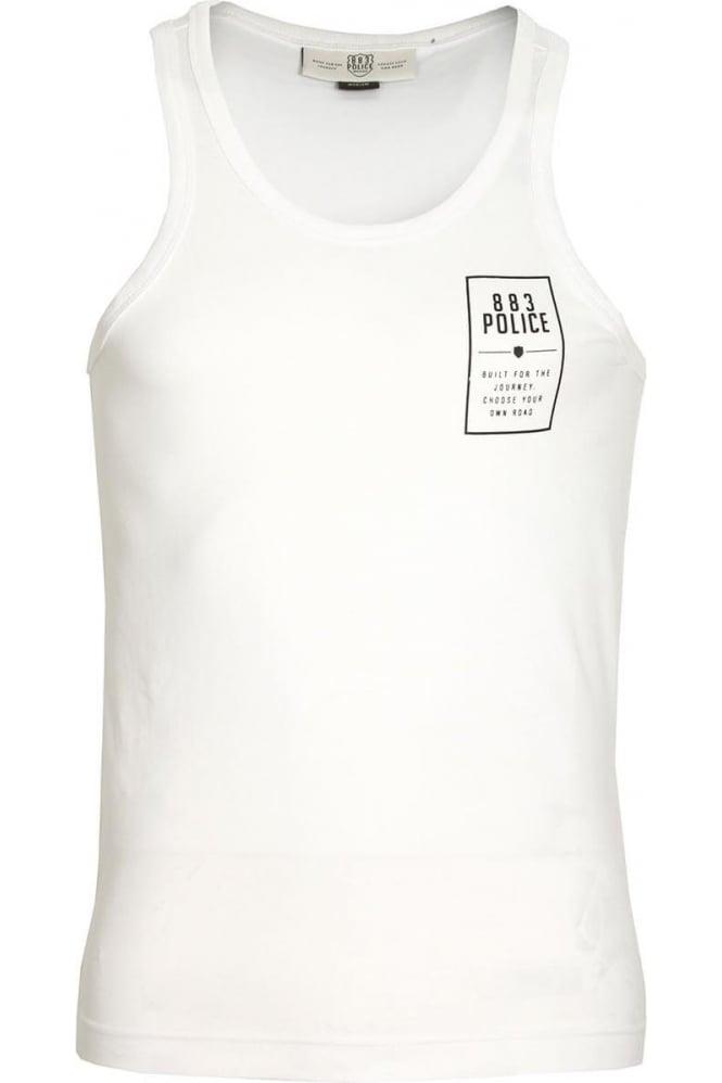 883 POLICE Cardinal Vest | White