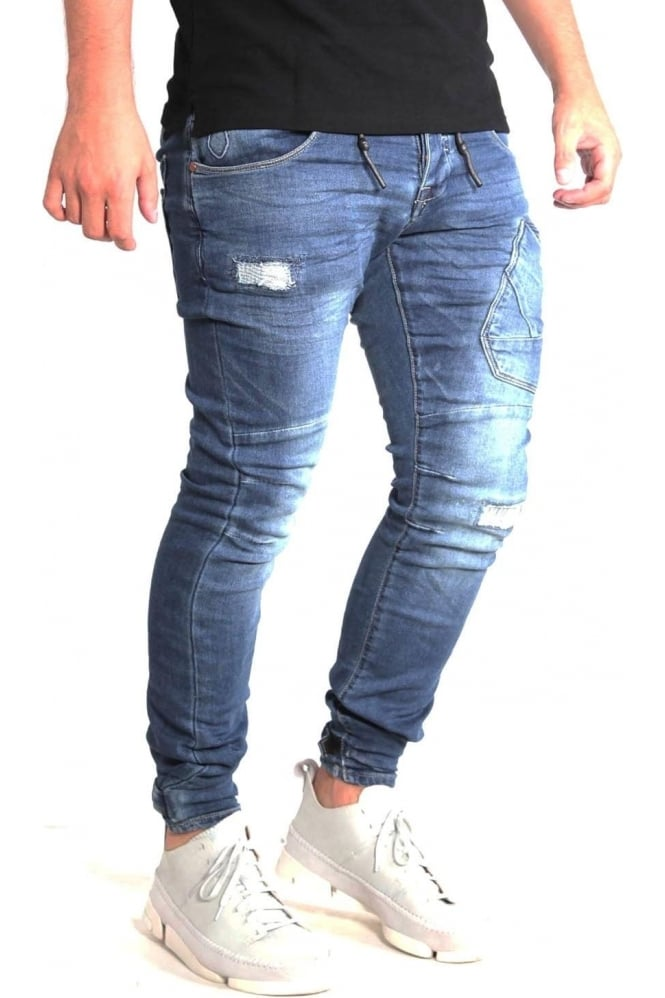 883 POLICE Cassady AI 408 Regular Jog Denim Jeans