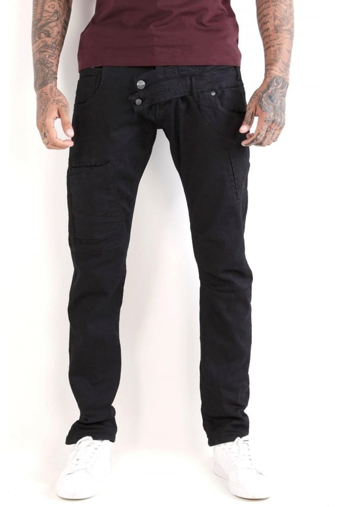 883 POLICE Cassady AT 347 Jeans | Dark Blue/Clean Wash