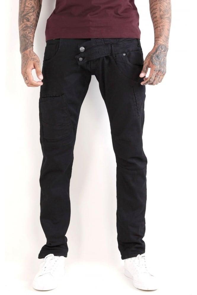 883 POLICE Cassady AT 347 Jeans | Dark Blue/Clean Wash