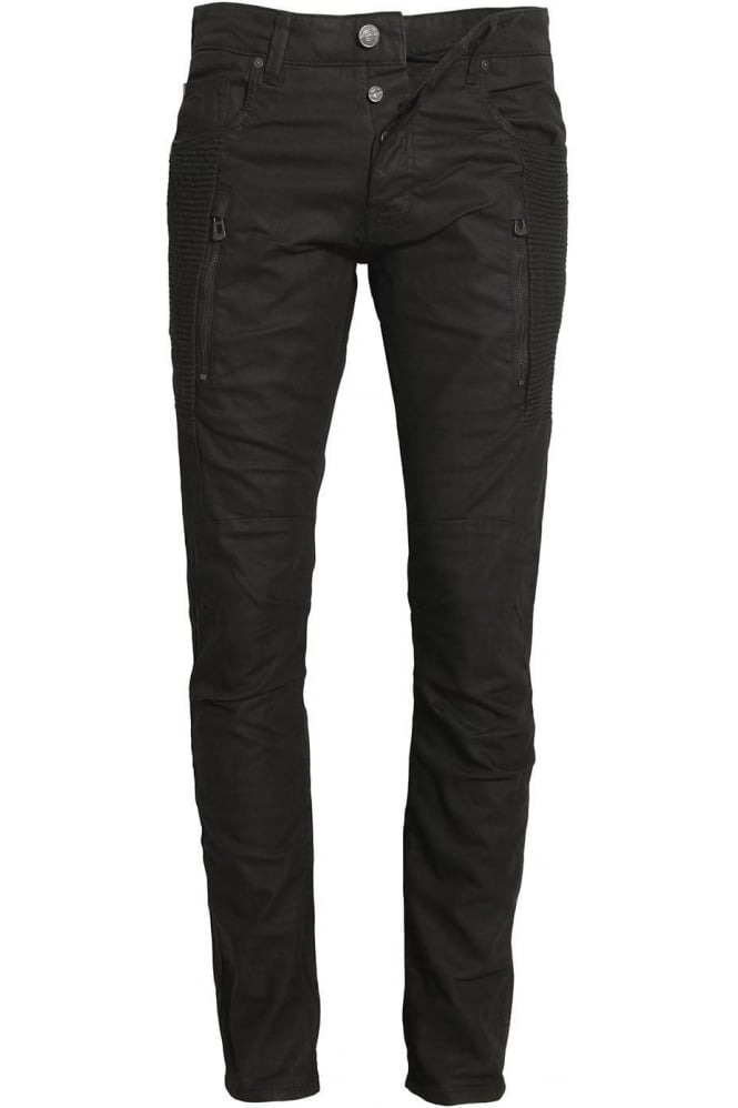 883 POLICE Cassady CE 395 Regular Fit Jeans | Black