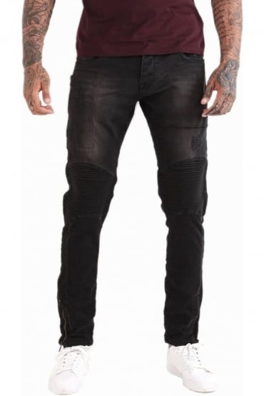 Cassady Ran 409 Denim Jeans | Treated Black Wash