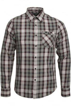 Cyprez Long Sleeve Plaid Shirt | Grey
