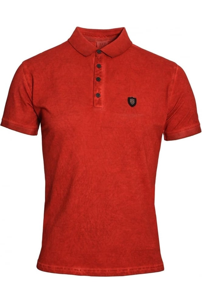 883 POLICE DeAngelo Polo Shirt | Bossa Red