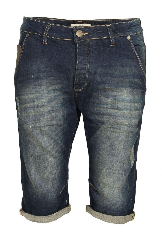 Flash Faded Denim Shorts
