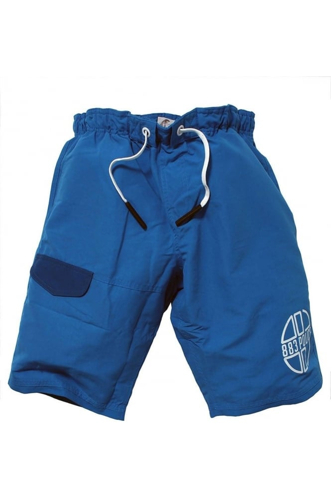 883 POLICE Foster Swim & Board Shorts | Electric Blue