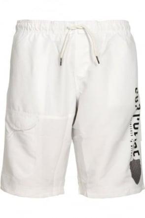 Foster Swim Shorts White
