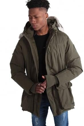 Guido Duckdown Hooded Parka Jacket | Khaki
