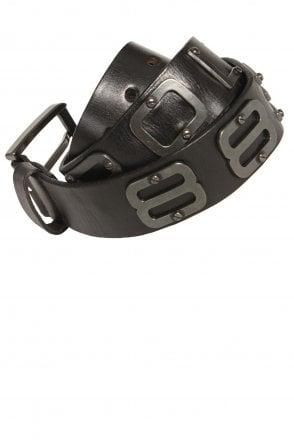 717cd9f3dc Jambo Black Leather Belt