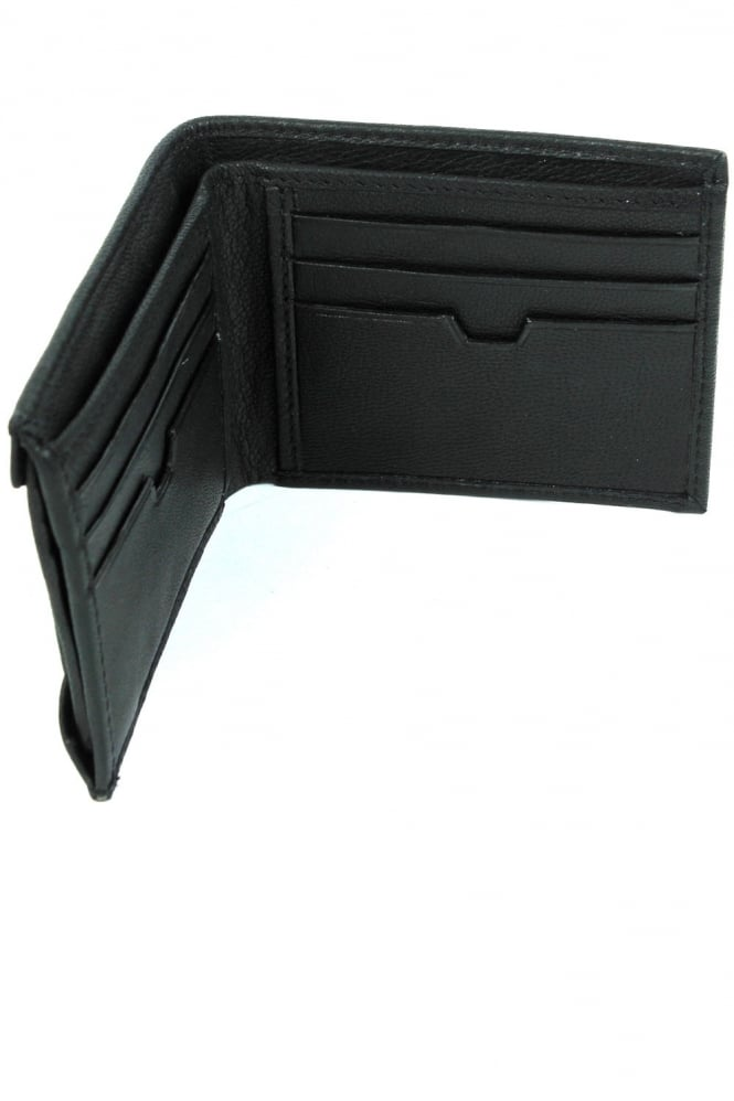883 POLICE Lazzaro Leather Wallet Black