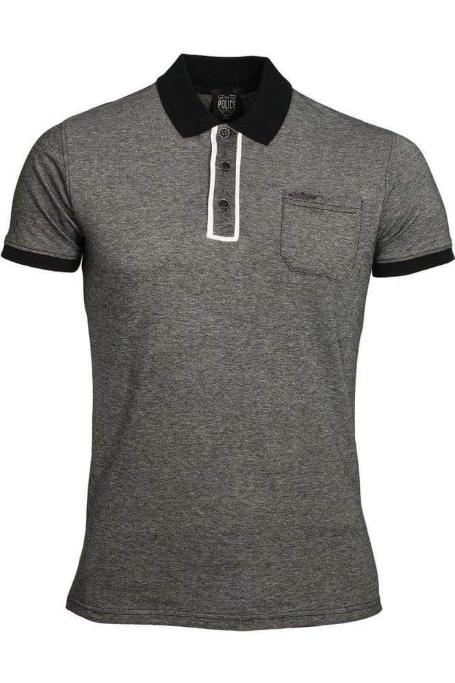 883 POLICE Lennox Polo Shirt | Charcoal