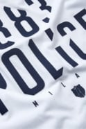883 POLICE Malko Graphic Print Men's T-Shirt | White/Navy