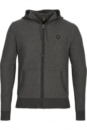 Manassa Hooded Sweater Charcoal