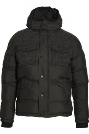 Mead Padded Men's Jacket Jet Black