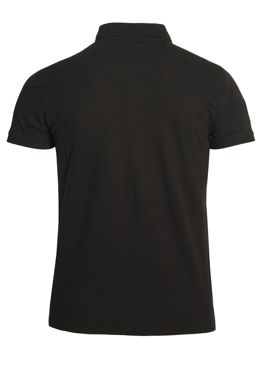 883 police mellor cotton polo shirt black buy 883 police for Black cotton polo shirt