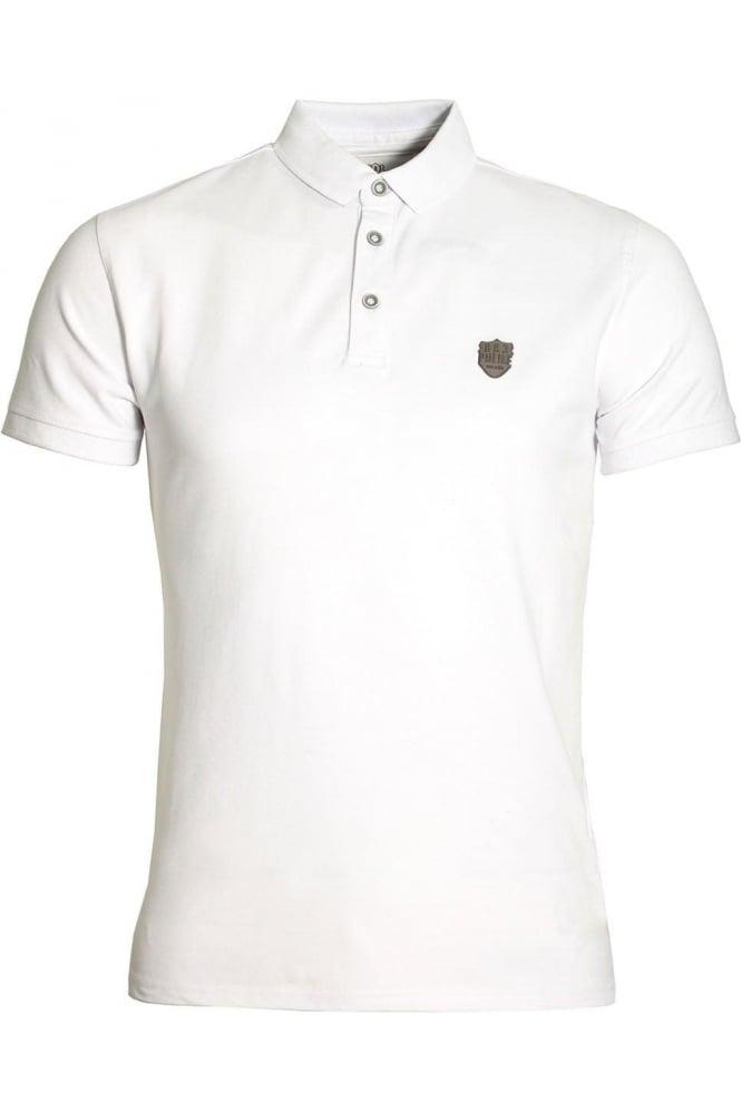 883 POLICE Mellor Cotton Polo Shirt White