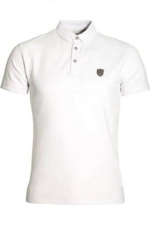 Mellor Cotton Polo Shirt White