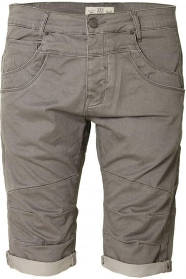 Mitzi Chino Shorts Quarry Grey
