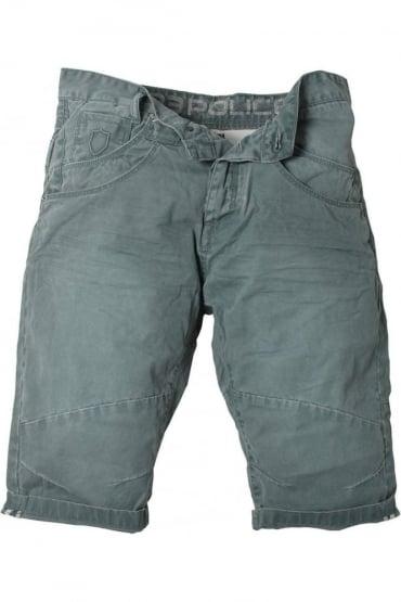 Mitzi Cotton Shorts | Blue, Green & Stone