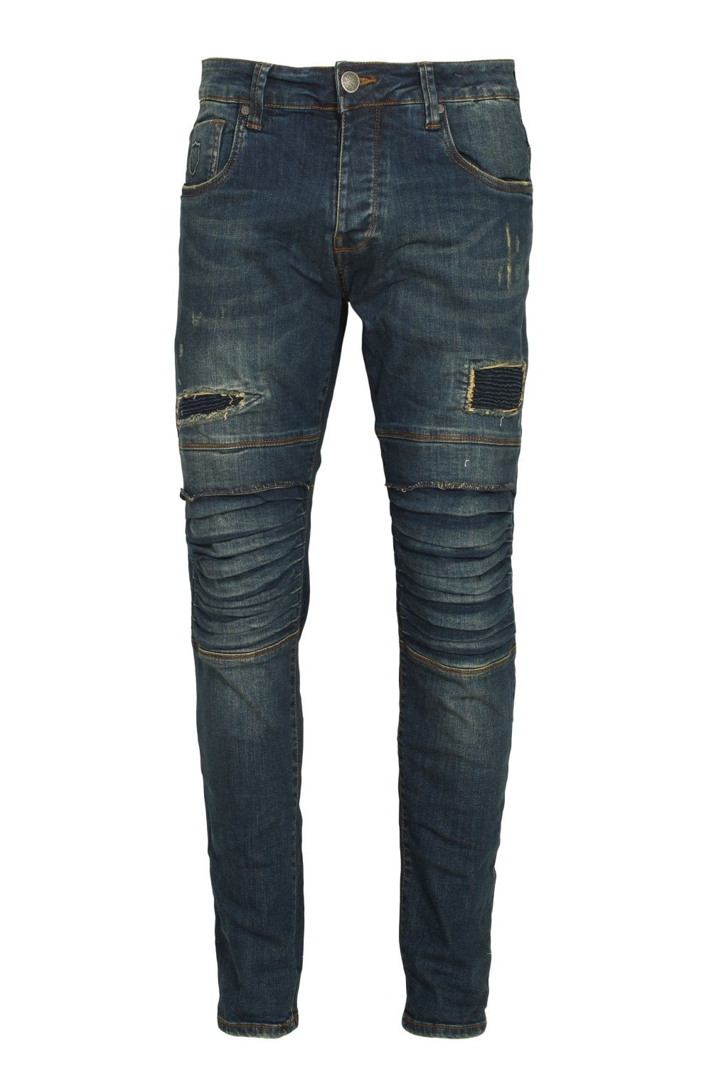 48c2d60b 883 Police Moriarty 18B Tapered Slim Fit Jeans | Shop 883 Police Denim