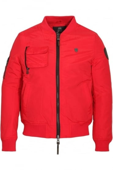 Moscat MA1 Bomber Jacket Red