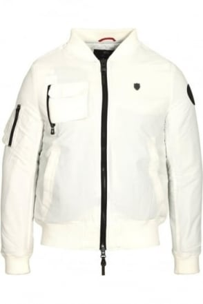 Moscat MA1 Bomber Jacket White