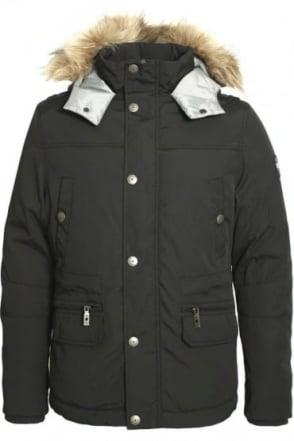Myles Parka Jacket | Charcoal