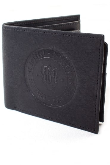 Nerio Leather Wallet Black