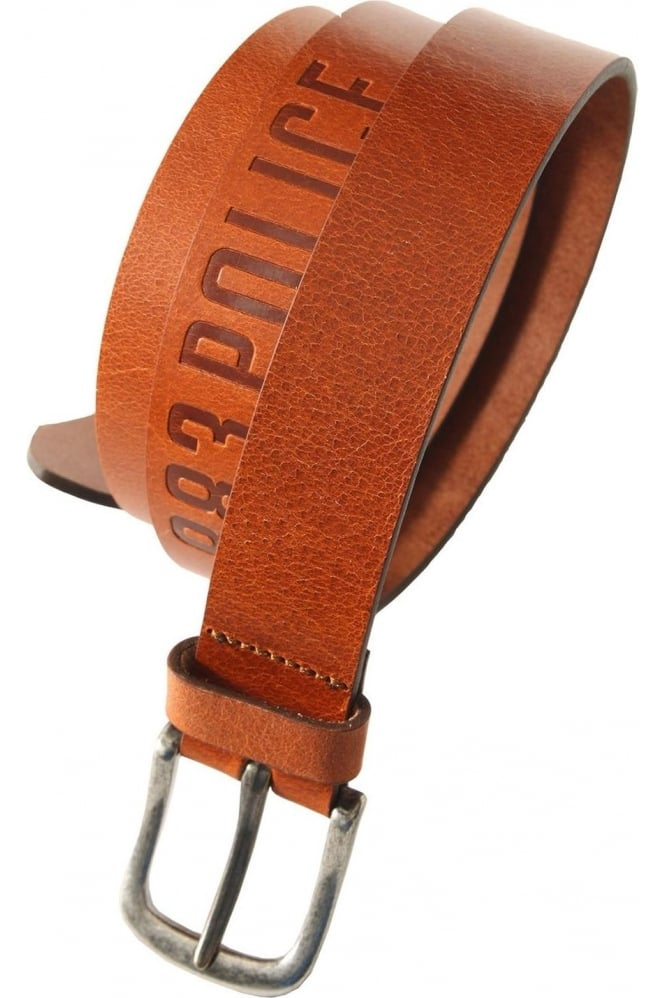883 POLICE Orlando Leather Belt Tan, Dark Brown & Black