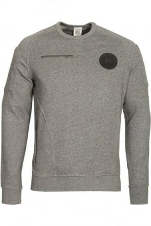 Ortiz Sweatshirt   Marl Grey