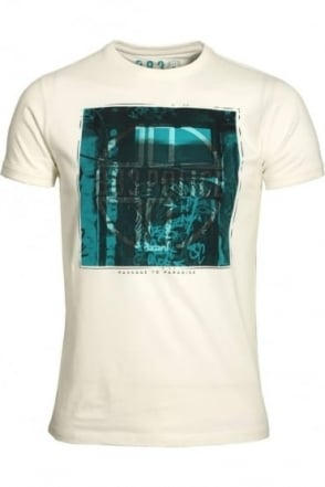 Pada Graphic Print T-Shirt   Off White