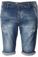 883 POLICE Patriot 321 Cut & Sewn Denim Shorts