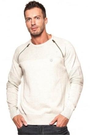 Riggs Men's Knitwear Ecru