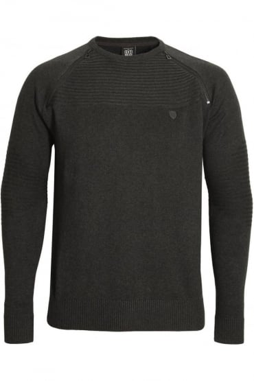 Riggs Men's Sweater Charcoal
