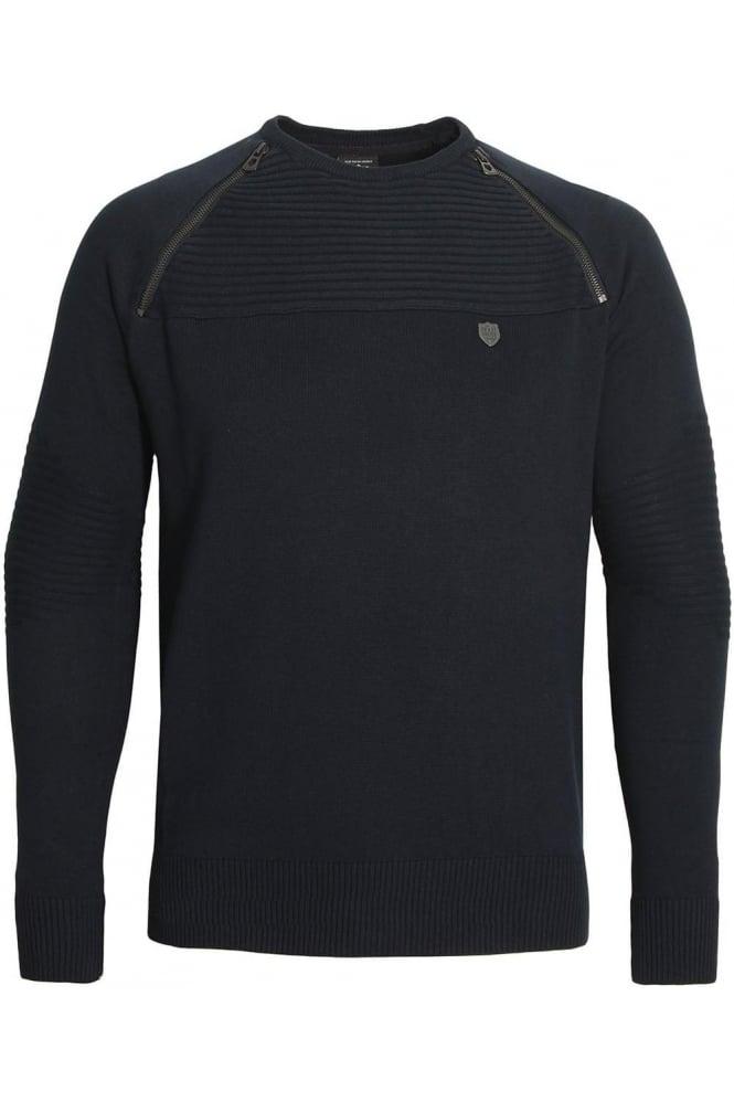 883 POLICE Riggs Men's Sweater Navy