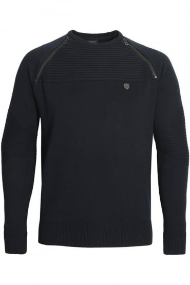 Riggs Men's Sweater Navy