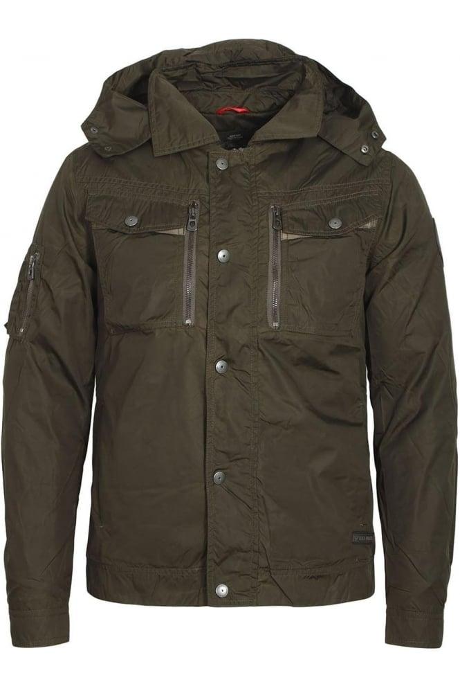 883 POLICE Ryhme Khaki Field Jacket