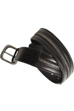 Sanchez Black Leather Belt