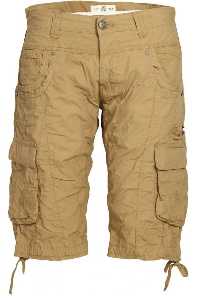 883 POLICE Seattle Cargo Shorts Sand
