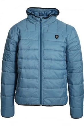 Shaka Padded Jacket Stellar Blue