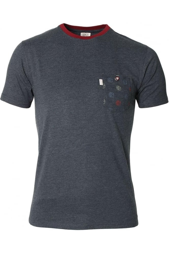883 POLICE Shane T-Shirt | Eclipse Charcoal