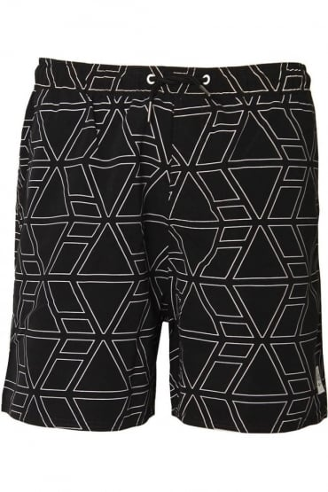 Thunder SwimShorts | Jet Black